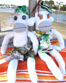 Aloha Sock-ratees™ and Hos-ary™ | © Pepe & Sherina Designs™