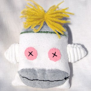 Sock Monkey Pet Toys for Cats and Dogs | © Pepe & Sherina Designs™